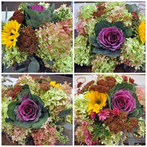 DIY cheap flower arrangements