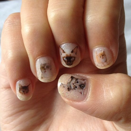 Cat nails for you Skye...meow