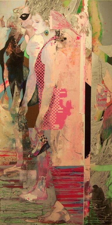 """Saatchi Online Artist: Jon Wassom; """"Masquerading the Storm"""""""