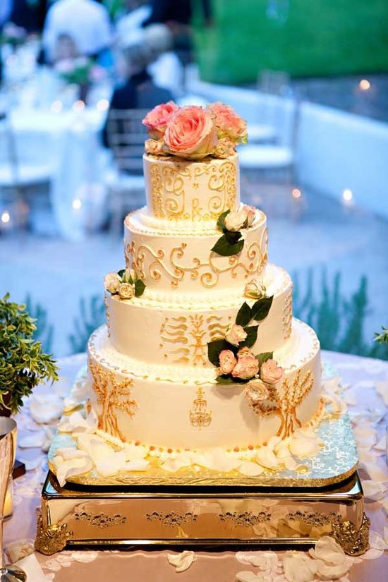 wedding cake {krumbs cakes}