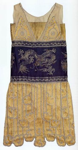 Chimère evening gown; Jeanne Paquin, 1925.