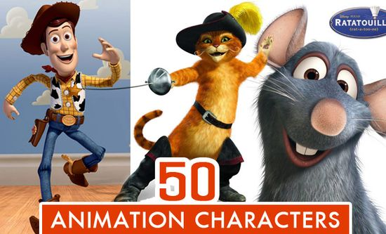 The 50 Best Animation Movie Character Designs for your inspiration. Follow us www.pinterest.com...