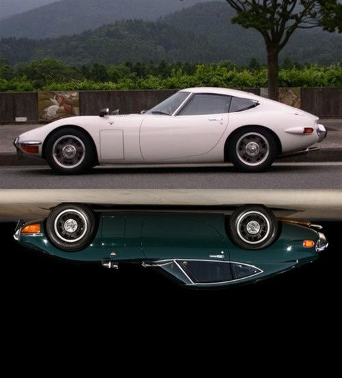 Toyota reflections. Now THAT is a sports car!