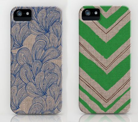 Super cute smart phone cases by Jen Hewett.   Pinning for next year when eligible for an upgrade to the new iPhone.