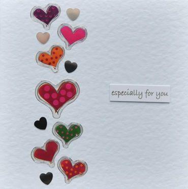 Handmade Valentine Card Especially for You by Helen Porter, via Flickr