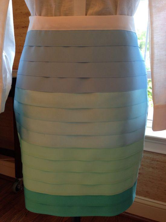 Spoleto Skirt tutorial