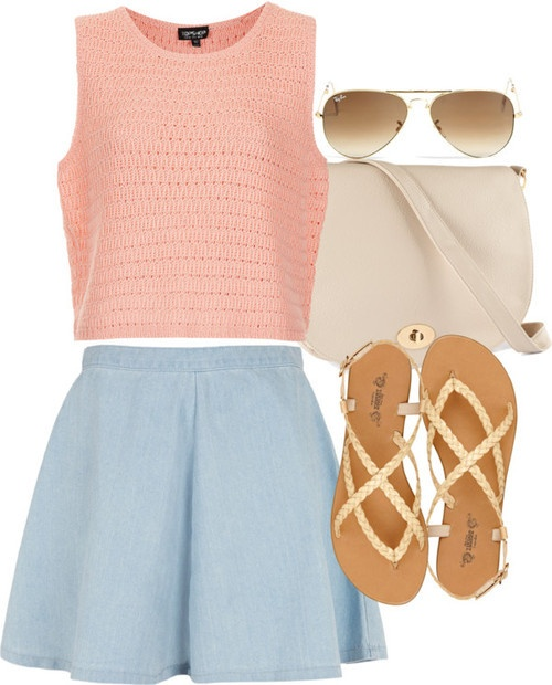Light clothes for summer