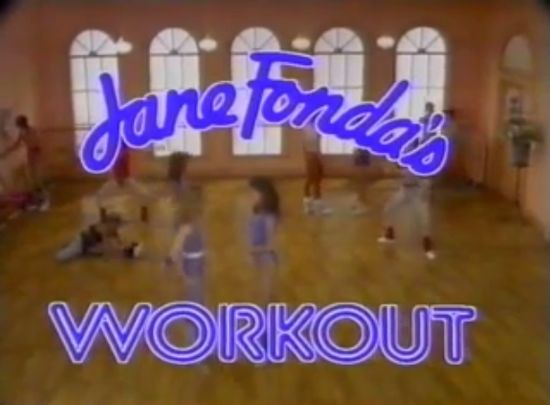 Work out with Jane Fonda
