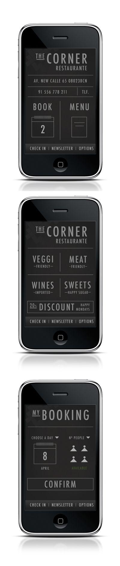 App design / UI Mobile design