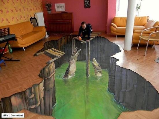 Indoor 3D Art