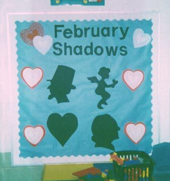 February bulletin board