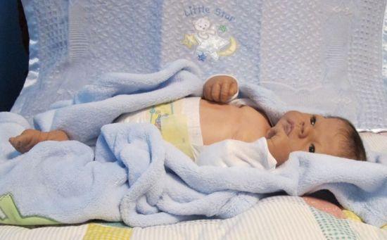 Tinkerbell Nursery resell, Newborn baby boy doll