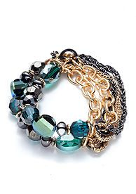 New Directions® Emerald Green Collection Bracelet