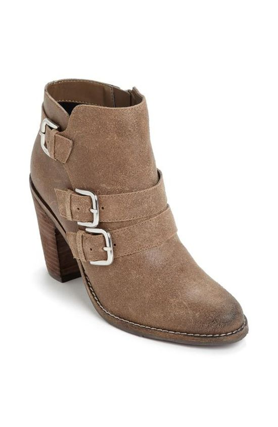 Booties With Rustic Appeal.
