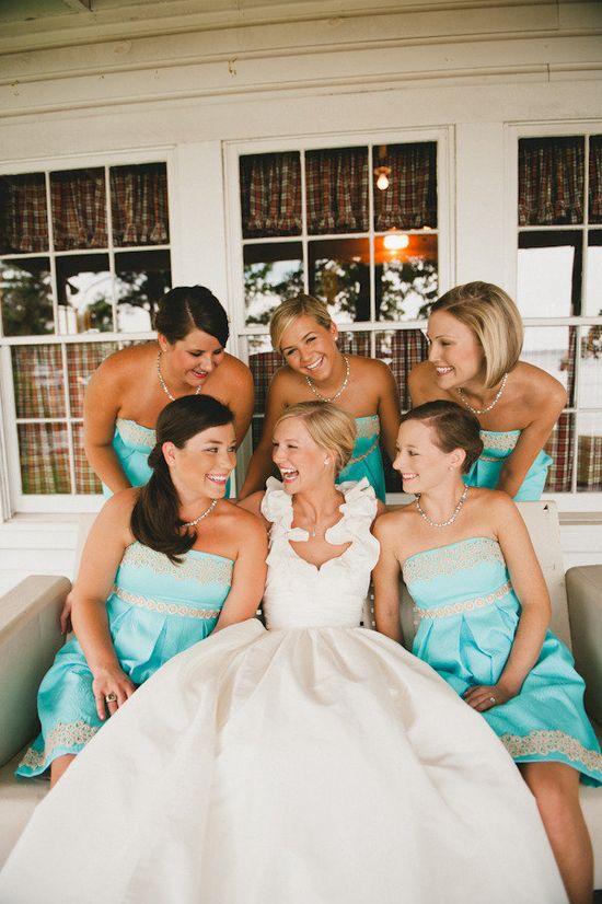 those bridesmaid dresses!