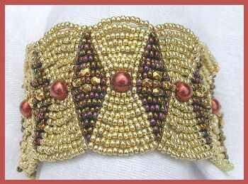 futuregirl craft blog : Crochet Beaded Bracelet
