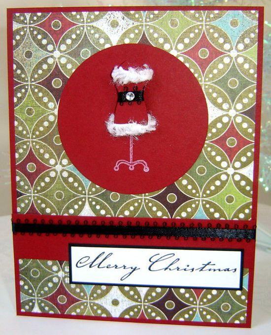 Girly Santa outfit, via Etsy.
