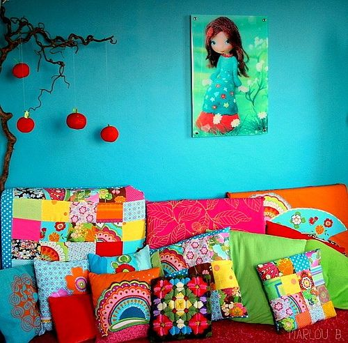 the perfect coloured walls.