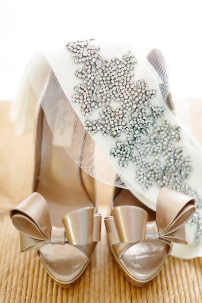 Valentino bows and a glam sash