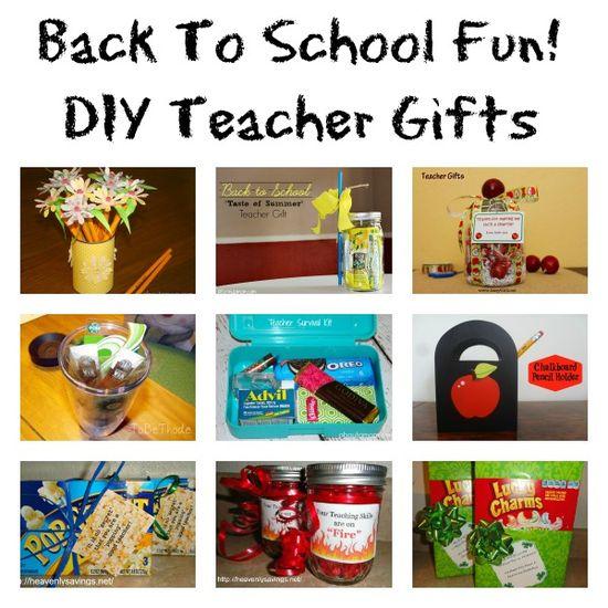Back To School DIY Teacher Gift Ideas