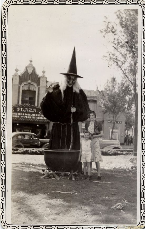 witch - love these vintage photos