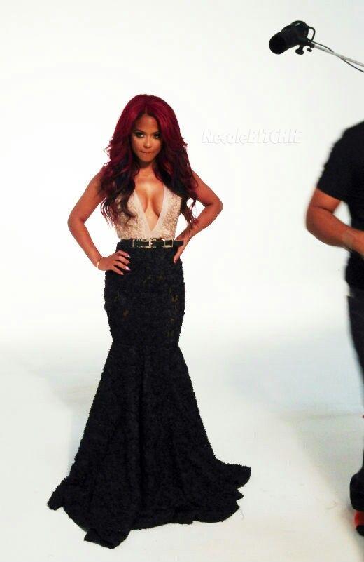 Christina beautiful dress