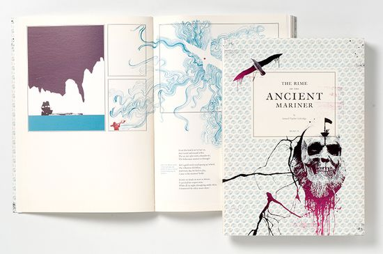 ancient mariner book cover by angus hyland