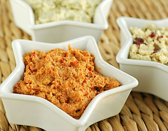Raw Food Recipes: Cheese Spread Three Ways from Rawmazing