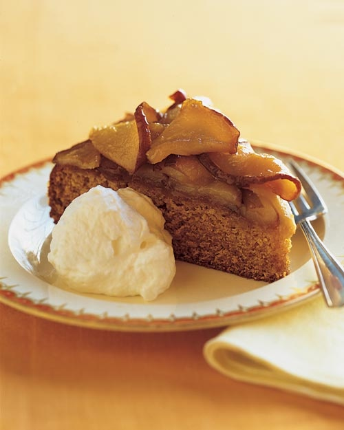 Honey Cake with Caramelized Pears - Martha Stewart Recipes
