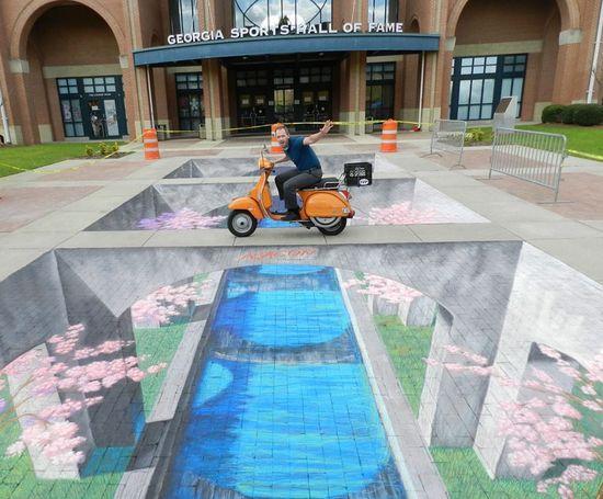 Amazing 3D Sidewalk Chalk.