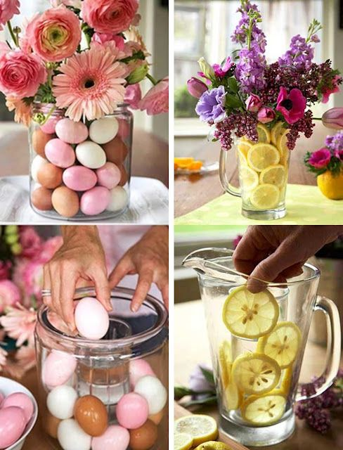 Fun Flower arrangements for Spring and Easter-Easy to do