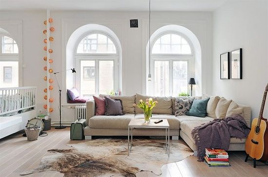 Inspiring Two-Room Apartment with a Delightful Interior Design