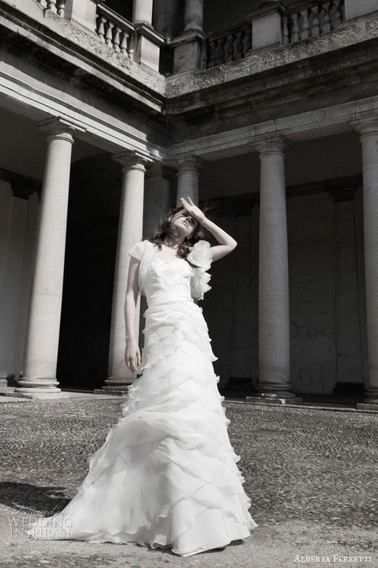 alberta ferretti wedding dresses 2014 bridal collection kensington gown