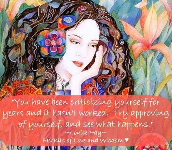 Try approving of self... #Personal Leadership