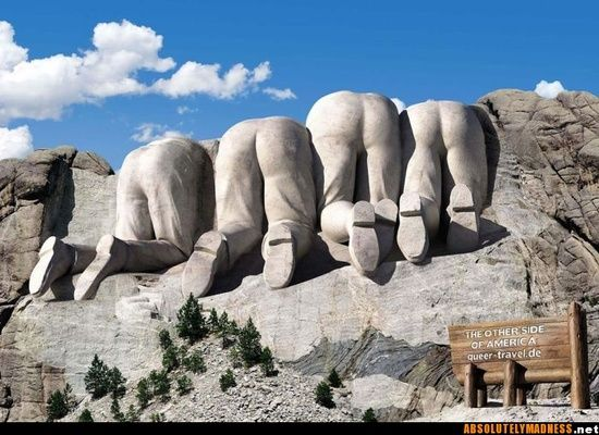 Mount Rushmore, 'behind' the #funny commercial ads #funny commercial #interesting ads #commercial ads