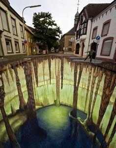 #street art   #3D art