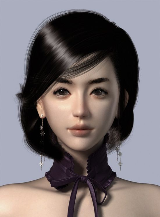 3D characters by Kyoungmin Lee