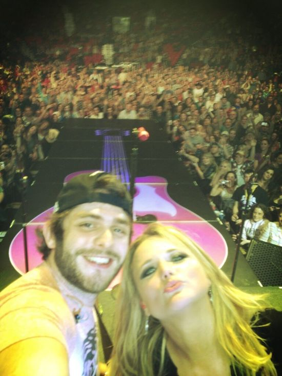 Thomas Rhett and Miranda Lambert