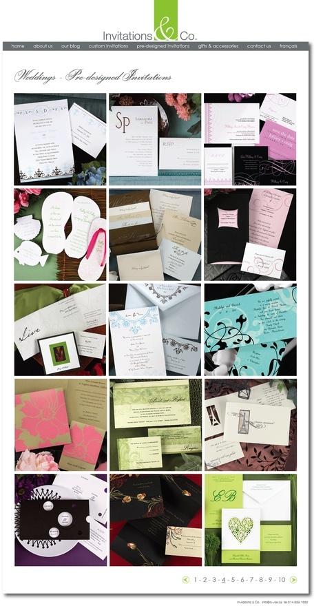 Invitations  Co. Wedding Invitations