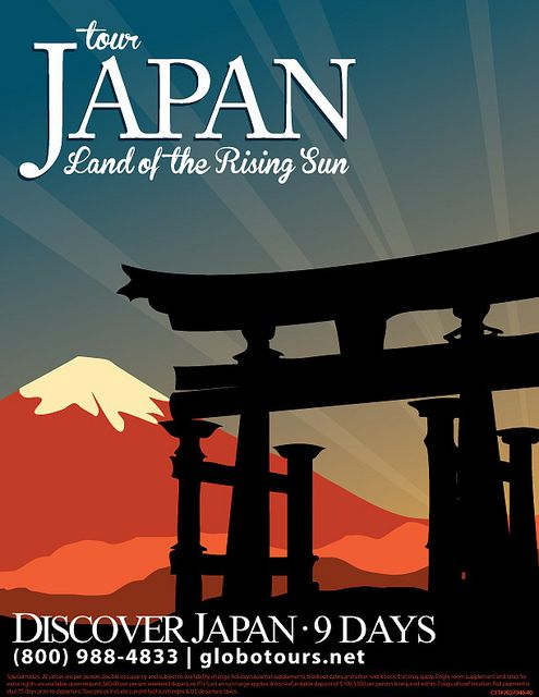 a travel poster to japan i made for my current job :D