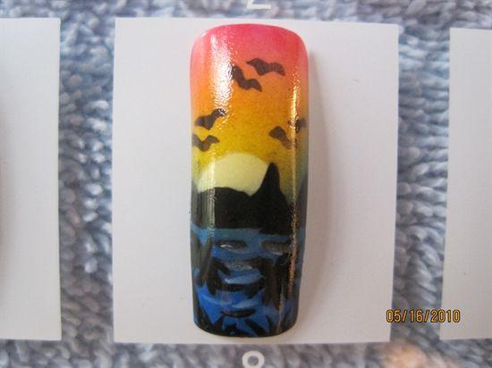Tropical paradise by Gloria83 - Nail Art Gallery nailartgallery.na... by Nails Magazine www.nailsmag.com #nailart