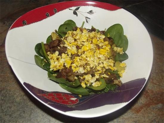 Breakfast Salad  Blissful Health - Breakfast Ideas