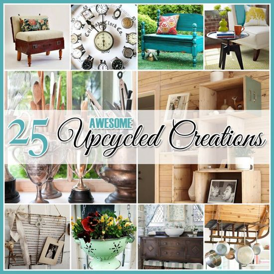 25 Amazing DIY Upcycled Creations