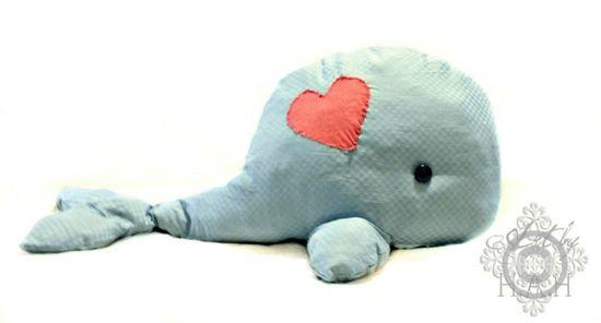 Whale Stuffed Animal Tutorial
