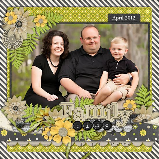 Our Family - Scrapbook.com