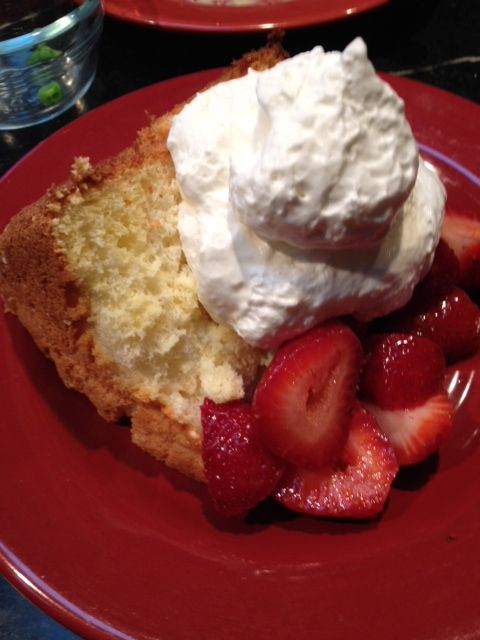 Dessert is served!!  Mmmm.