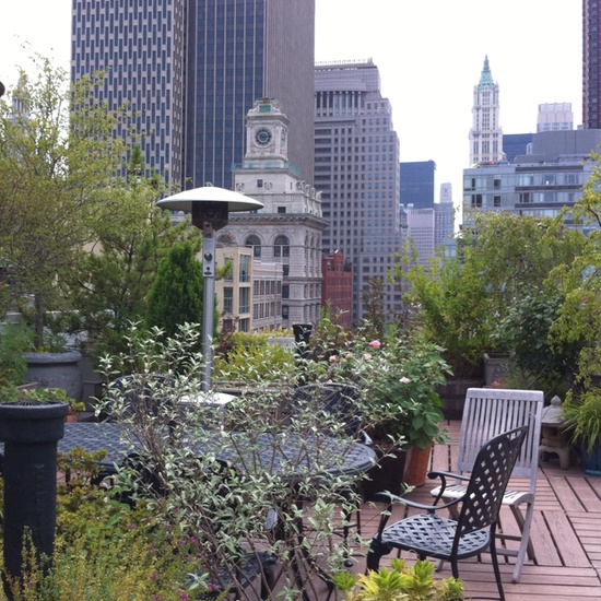 rooftop terrace in NYC - someday ;)
