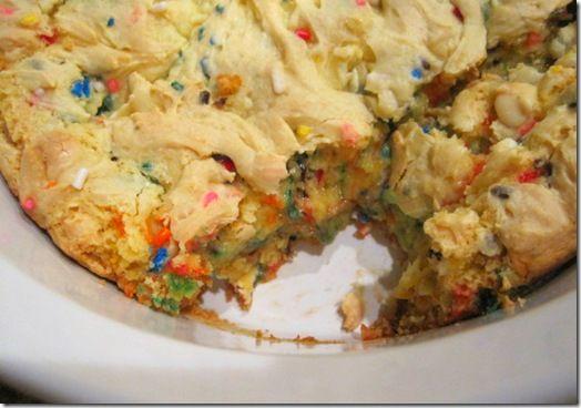 Cake Batter Brownies...say what?!