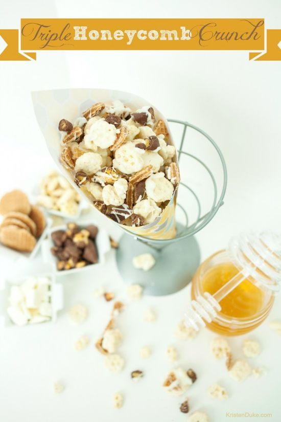 Triple Honeycomb Crunch Recipe via Capturing Joy with Kristen Duke >> #WorldMarket Desserts