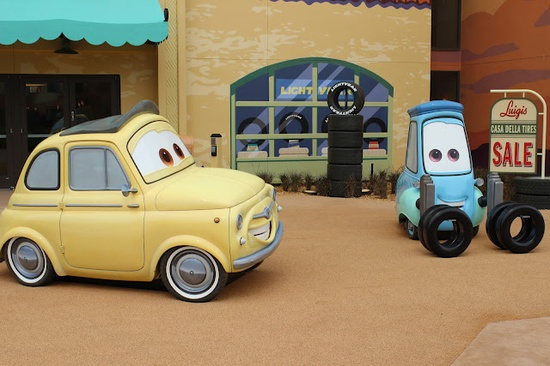 Luigi and Guido ~ Disney Art of Animation Resort